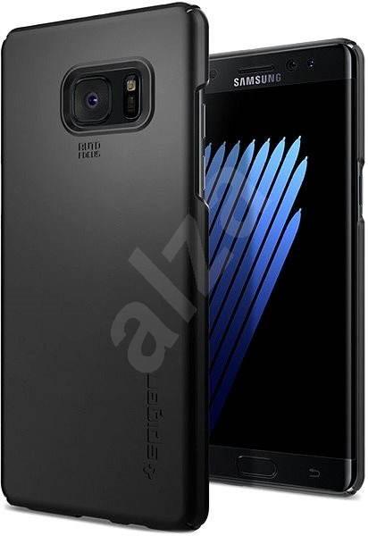 Spigen Thin Fit Black Samsung Galaxy Note 7 - Ochranný kryt