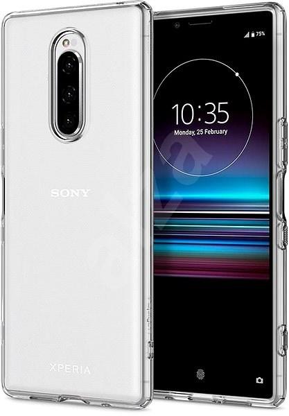 Spigen Liquid Crystal Clear Sony Xperia 1 - Kryt na mobil