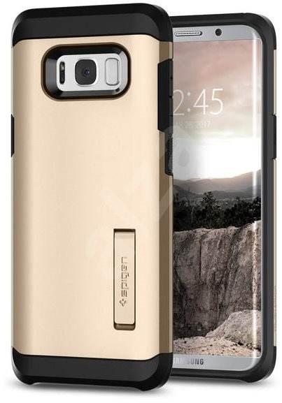 Spigen Tough Armor Gold Maple Samsung Galaxy S8+ - Ochranný kryt