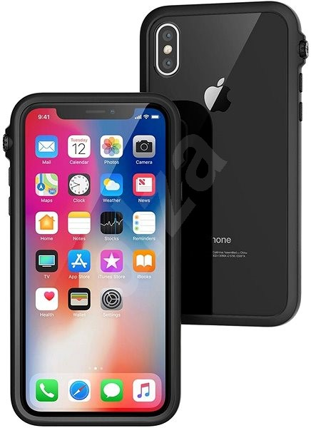 Catalyst Impact Protection Case Black iPhone X - Ochranný kryt  2a717770389