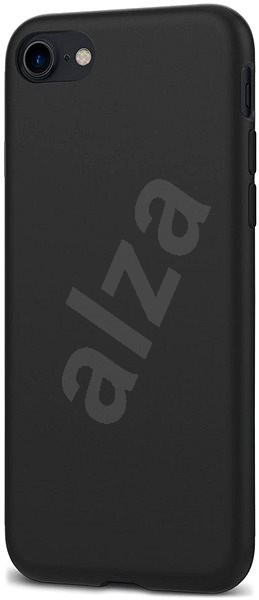 Spigen Liquid Crystal Matte Black iPhone 7/ 8 - Kryt na mobil