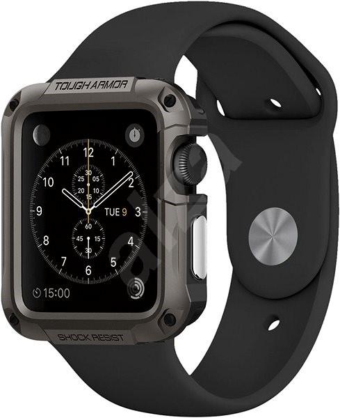 Spigen Tough Armor Gunmetal Apple Watch 1,2 42mm - Ochranný kryt