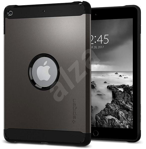 """Spigen Tough Armor Gunmetal iPad 9.7"""" - Ochranný kryt"""