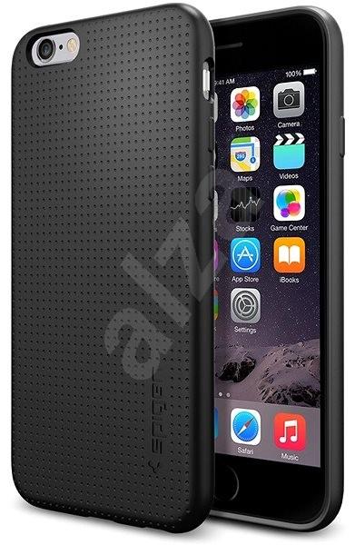 Spigen Liquid Air Black iPhone 6s/6 - Kryt na mobil
