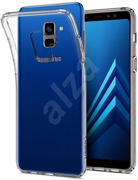 Spigen Liquid Crystal Clear Samsung Galaxy A8 (2018) - Kryt na mobil