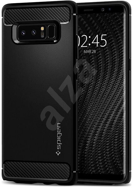 Spigen Rugged Armor Black Samsung Galaxy Note 8 - Kryt na mobil