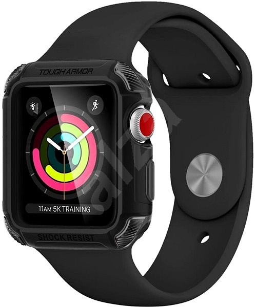 Spigen Tough Armor 2 Black Apple Watch 3/2/1 42mm   - Ochranný kryt