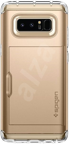 Spigen Crystal Wallet Gold Samsung Galaxy Note 8 - Pouzdro na mobilní telefon