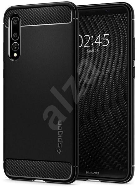 Spigen Rugged Armor Black Huawei P20 Pro - Kryt na mobil