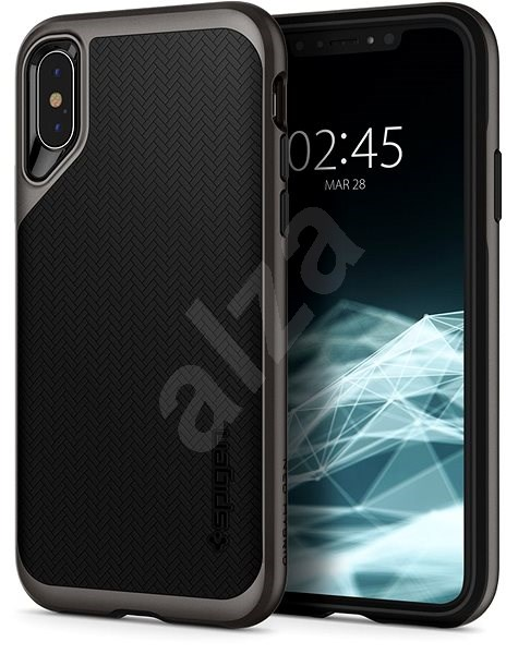 Spigen Neo Hybrid Gunmetal iPhone XS/X - Kryt na mobil