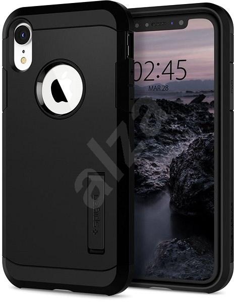 Spigen Tough Armor Black iPhone XR - Kryt na mobil
