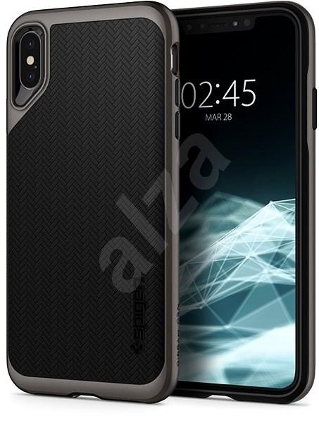 Spigen Neo Hybrid Gunmetal iPhone XS Max - Kryt na mobil