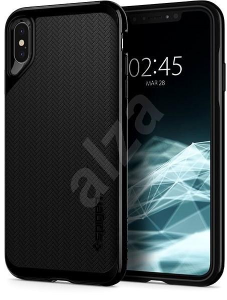 Spigen Neo Hybrid Jet Black iPhone XS Max - Kryt na mobil