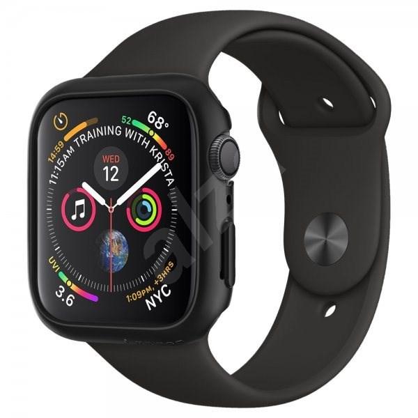 Spigen Thin Fit Black Apple Watch 4/5 44mm - Ochranný kryt