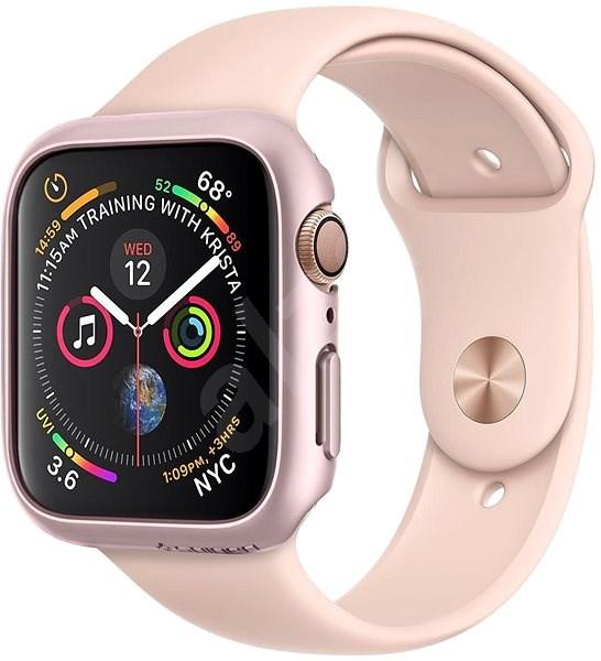 Spigen Thin Fit Rose Gold Apple Watch 4/5 44mm - Ochranný kryt
