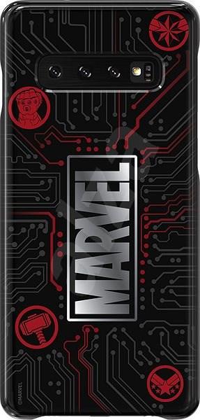 Samsung Marvel Logo kryt pro Galaxy S10 - Kryt na mobil