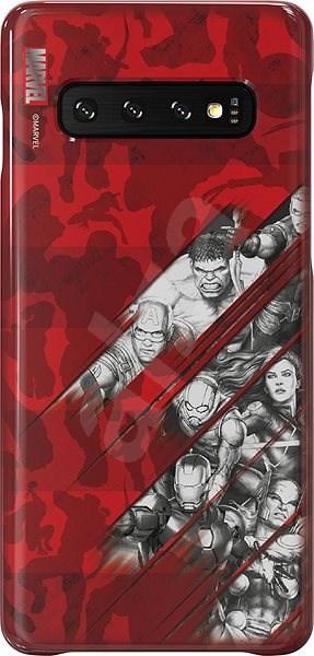 Samsung Avengers Comics kryt pro Galaxy S10 - Kryt na mobil