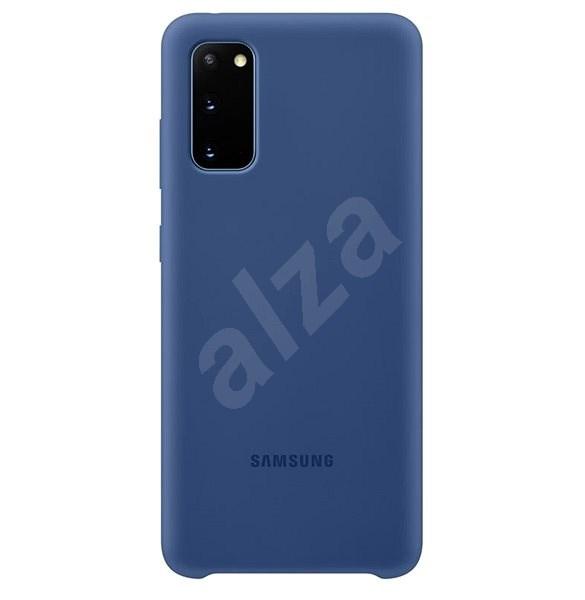 Samsung  Silikonový zadní kryt pro Galaxy S20 námořnícká modrá - Kryt na mobil