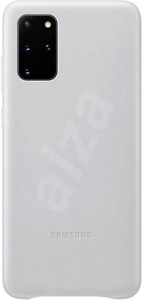 Samsung  Kožený zadní kryt pro Galaxy S20+ světle šedý - Kryt na mobil