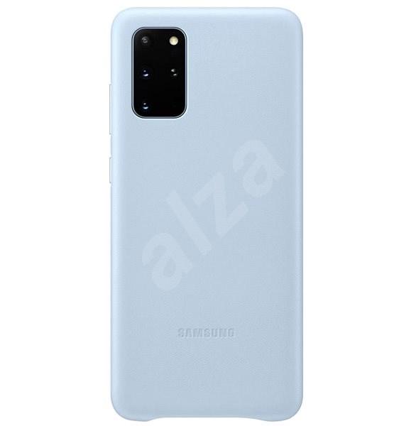 Samsung  Kožený zadní kryt pro Galaxy S20+ modrý - Kryt na mobil