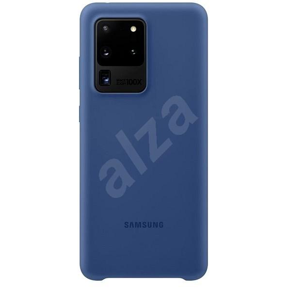 Samsung  Silikonový zadní kryt pro Galaxy S20 Ultra námořnícká modrá - Kryt na mobil