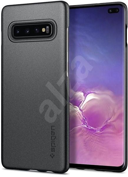 Spigen Thin Fit Gray Samsung Galaxy S10+ - Kryt na mobil
