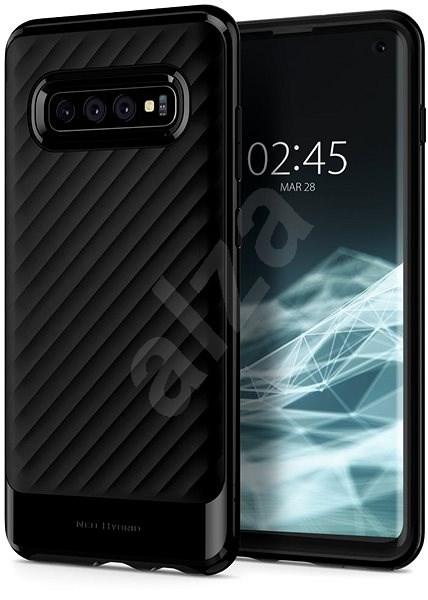 Spigen Neo Hybrid Black Samsung Galaxy S10 - Kryt na mobil