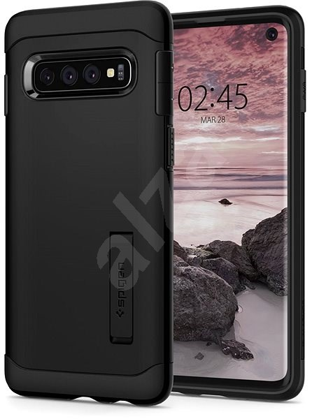 Spigen Slim Armor Black Samsung Galaxy S10 - Kryt na mobil