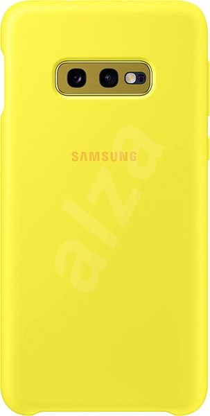 Samsung Galaxy S10e Silicone Cover žlutý - Kryt na mobil