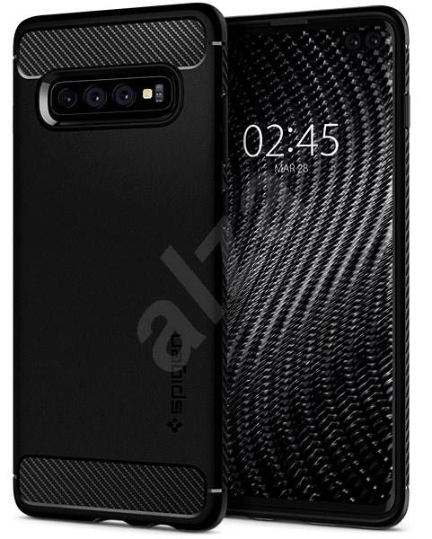 c2d66eda7 Spigen Rugged Armor Black Samsung Galaxy S10+ - Kryt na mobil | Alza.cz