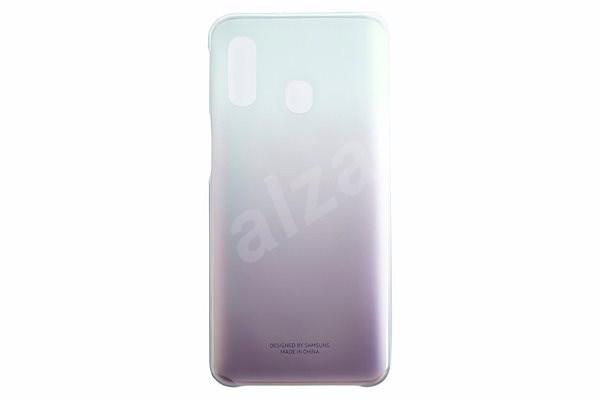 Samsung Gradation pro Galaxy A40 Black - Kryt na mobil