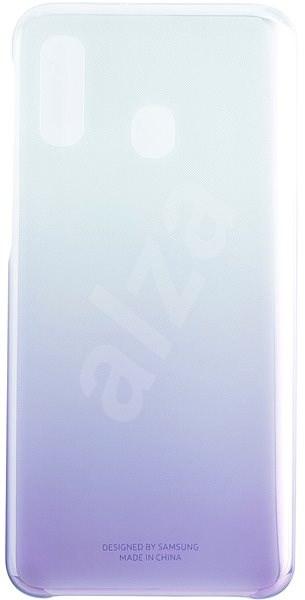 Samsung Gradation pro Galaxy A40 Violet - Kryt na mobil