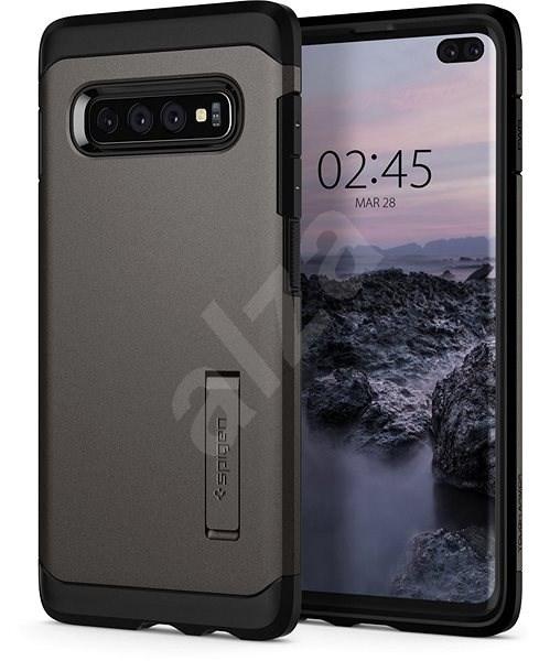 Spigen Tough Armor Gunmetal Samsung Galaxy S10+ - Kryt na mobil