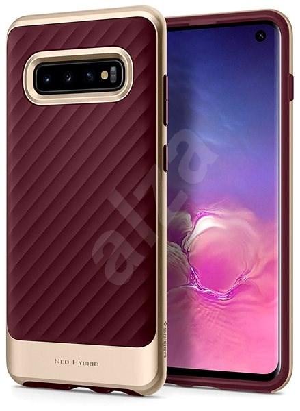 Spigen Neo Hybrid Burgundy Samsung Galaxy S10 - Kryt na mobil