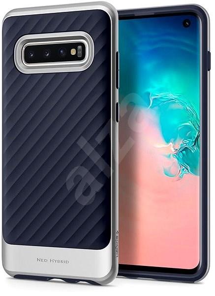 Spigen Neo Hybrid Silver Samsung Galaxy S10 - Kryt na mobil