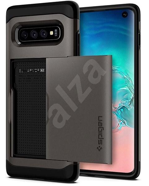 Spigen Slim Armor CS Gunmetal Samsung Galaxy S10 - Kryt na mobil