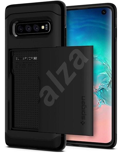 Spigen Slim Armor CS Black Samsung Galaxy S10 - Kryt na mobil