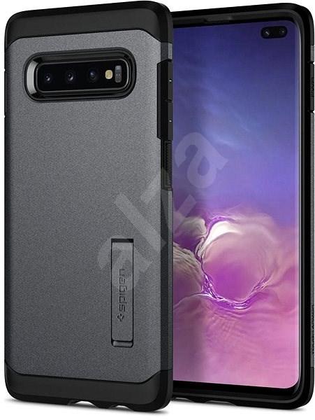 Spigen Tough Armor Gray Samsung Galaxy S10+ - Kryt na mobil