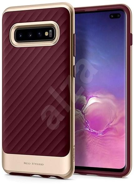 Spigen Neo Hybrid Burgundy Samsung Galaxy S10+ - Kryt na mobil