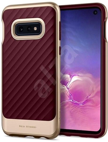 Spigen Neo Hybrid Burgundy Samsung Galaxy S10e - Kryt na mobil