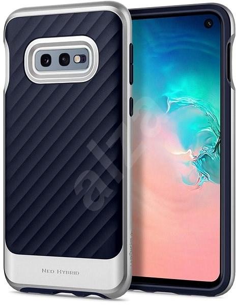Spigen Neo Hybrid Silver Samsung Galaxy S10e - Kryt na mobil