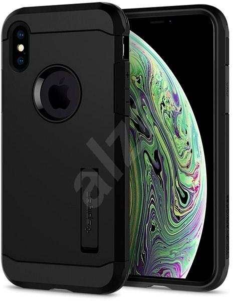 Spigen Tough Armor XP Black iPhone XS/X - Kryt na mobil