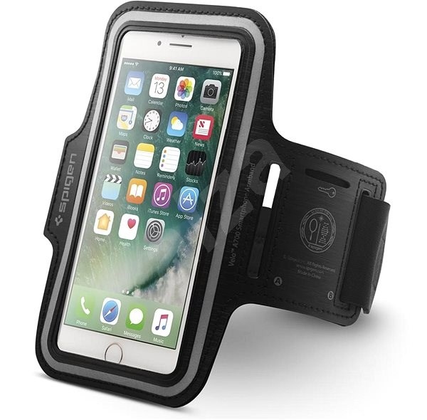 """Spigen Velo A700 Sports Armband 6"""" Black - Pouzdro na mobil"""