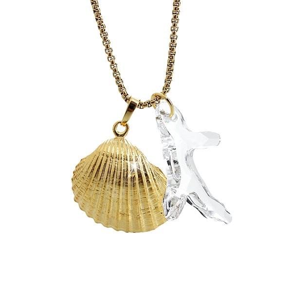 JSB Bijoux 61300737g-cr s krystaly Swarovski® - Náhrdelník