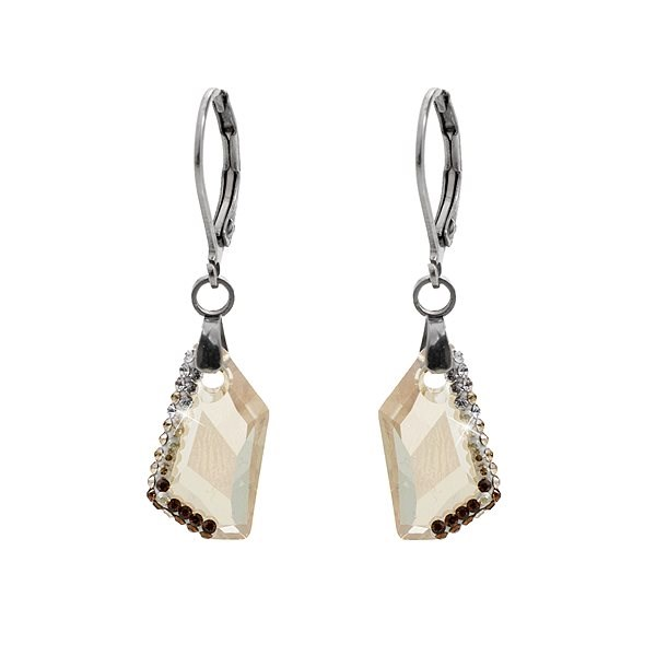 JSB Bijoux 61400751gsh s krystaly Swarovski® - Náušnice