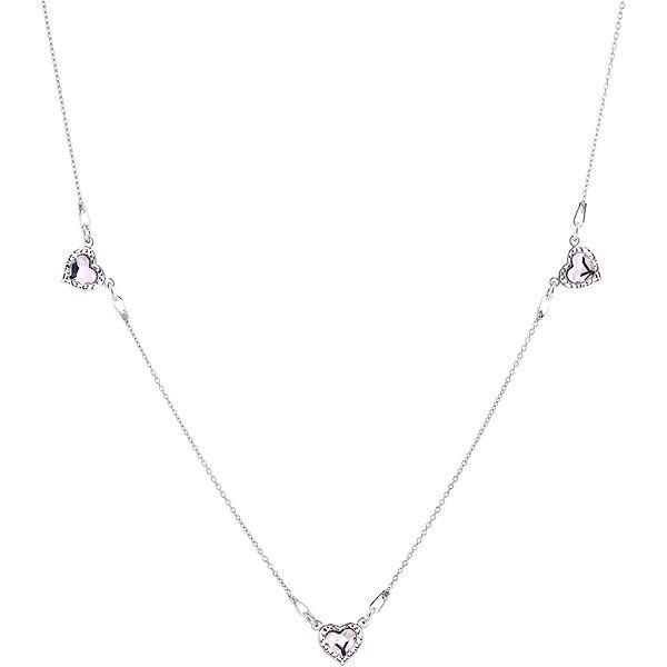 EVOLUTION GROUP 72060.3 Rosaline with Swarovski® Crystals (Ag925/1000, 3.5g) - Necklace