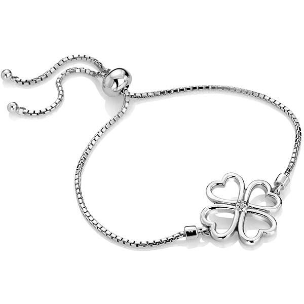 HOT DIAMONDS Lucky in Love DL603 (Ag 925/1000, 4,10g) - Bracelet