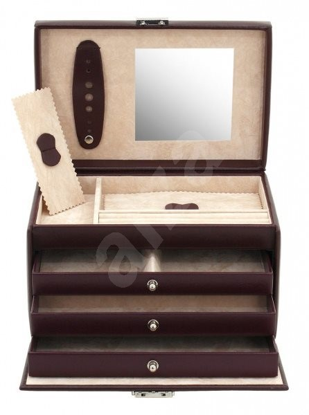 FRIEDRICH LEDERWAREN 23231-1 - Jewellery Box