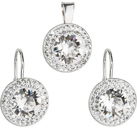 Decorated Swarovski Crystals (925/1000, 4.1g) - Jewellery Gift Set