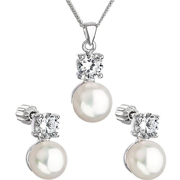 145c209aa EVOLUTION GROUP 29002.1 stříbrná perlová souprava s řetízkem (925/1000, 5 g)